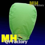 "Green ""Original"" Fire Retardant Sky lantern"