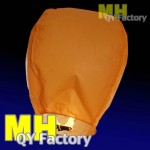 "Orange ""Original"" Fire Retardant Sky lantern"
