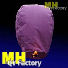 "Purple ""Original"" Fire Retardant Sky lantern"