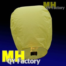 "Yellow ""Original"" Fire Retardant Sky lantern"