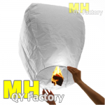"White ""Original"" Fire Retardant Sky lantern"