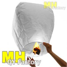 "White ""Original"" Fire Retardant Sky lantern"