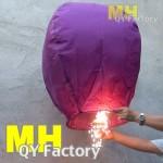 Sparkling Sky Lantern Purple