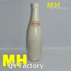 Wax bottle white